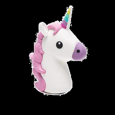 Unicorn Emoji 2600mAh Power Bank