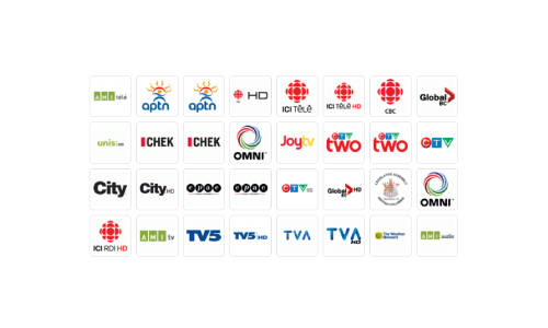 Channels & Packages - TELUS Satellite TV