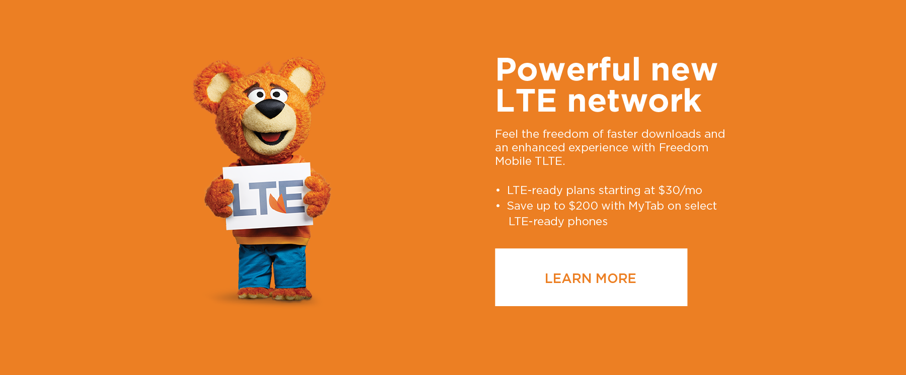 New LTE Network