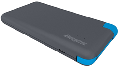 Energizer Powerbank 8000 mAh-Micro/Type C,  Black