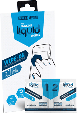 Black Ice Liquid Edition Universal Screen Protector