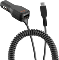 Ventev Dual Output Dashport r2400 Universal Car Charger