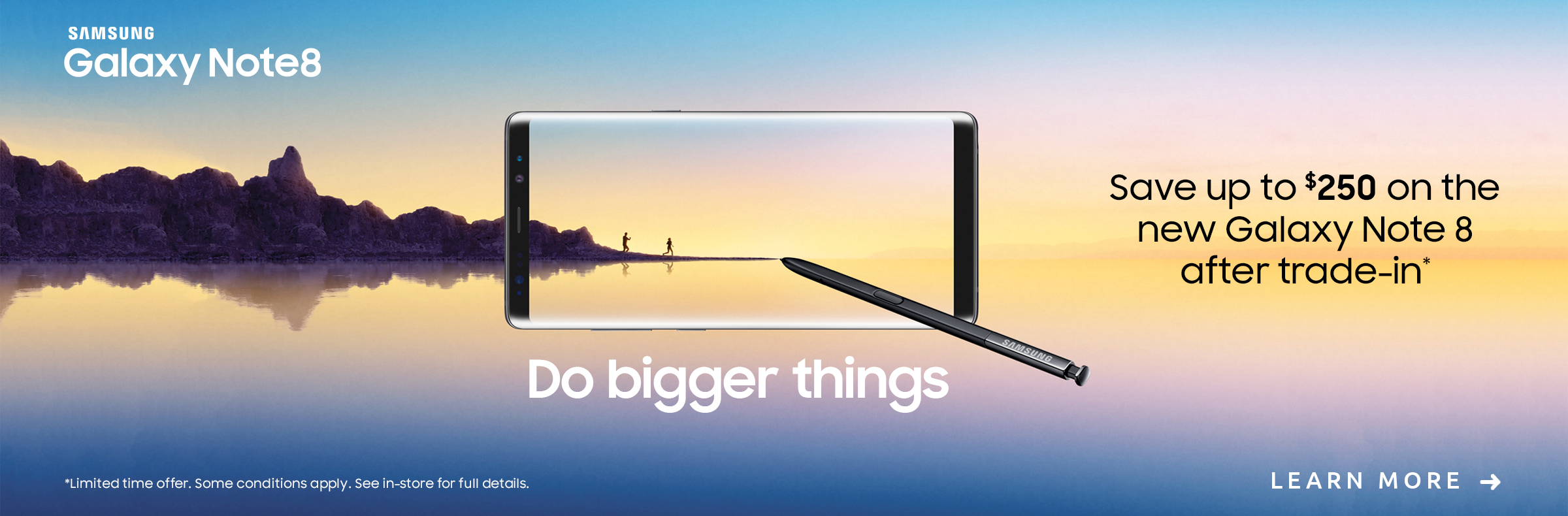Samsung Galaxy Note8 Trade-in Offer
