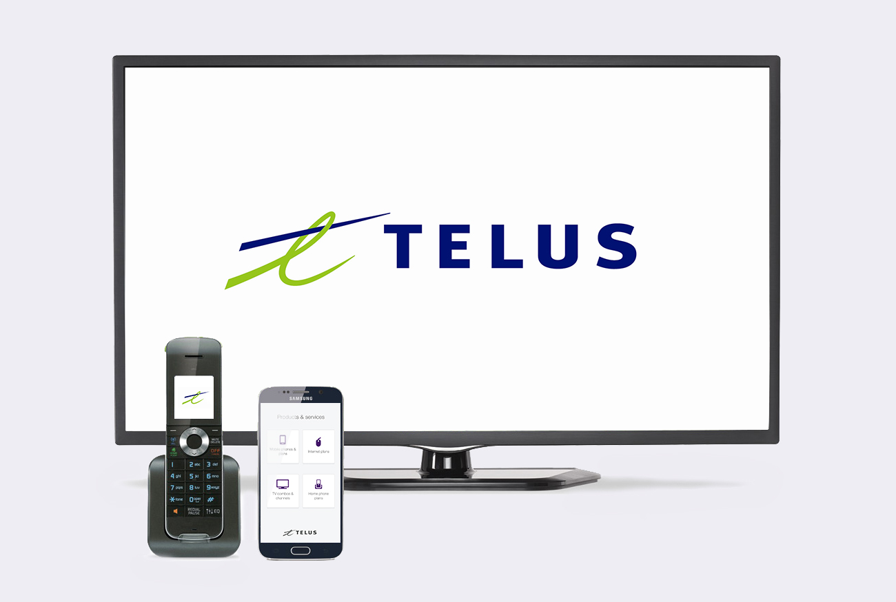 TELUS TV Phone Home Bundle