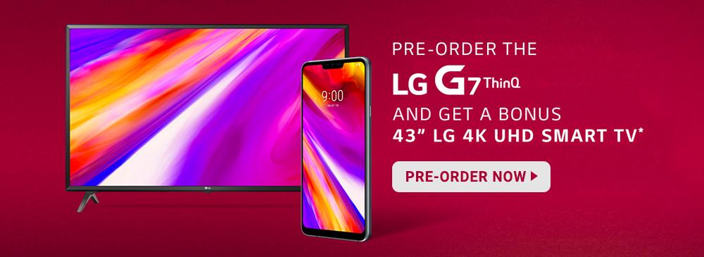 LG G7 ThinQ Pre-Order