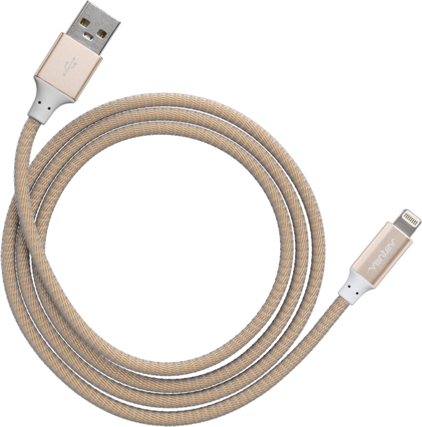 4' Chargesync Alloy Lightning Cable
