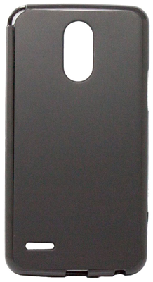 Affinity Electronics LG Stylo 3 Plus Gelskin Case - Solid black