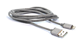 IQ Braided Lightning Cable - 10ft