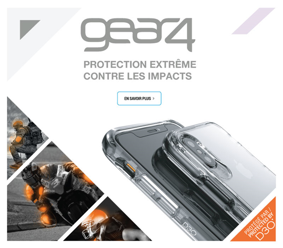 Gear4 Protection extrême contre les impacts