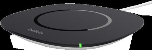 Qi Wireless Charging Pad - Black/Silver