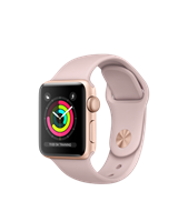 APPLE WATCH S3 PINK/PIND SAND SPORT BAND