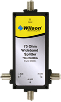 weBoost Wilson 3 way splitter   75 ohm