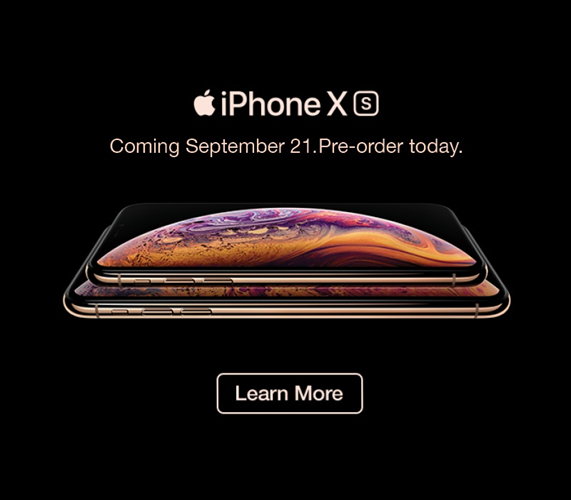 iPhone Xs Preorder Now