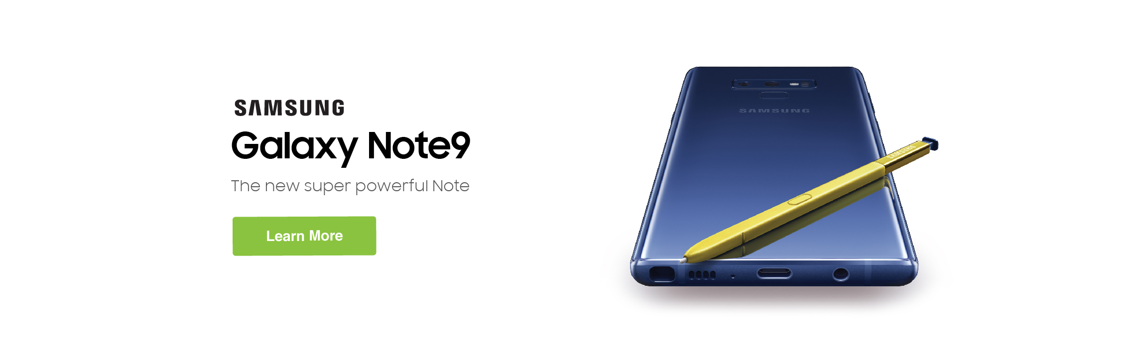 Galaxy Note9 Available Now!