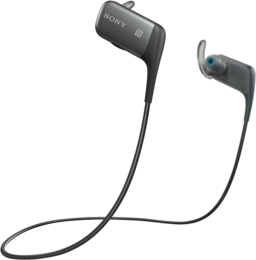 AS600BT Sport Bluetooth In-ear Headphones - Black