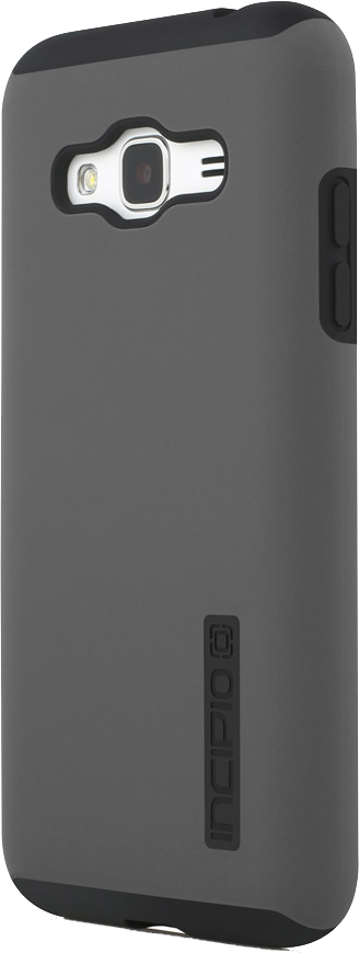 Galaxy J3 DualPro Case - Gray/Black