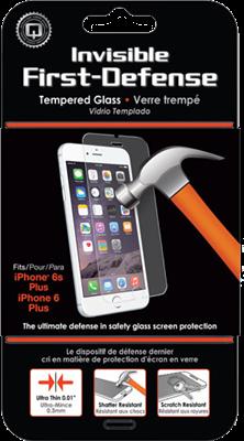 Qmadix iPhone 6/6s Plus Invisible Tech-Armor Glass