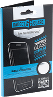 Gadget Guard Moto G4 Plus Black Ice Edition Tempered Glass Screen Protector