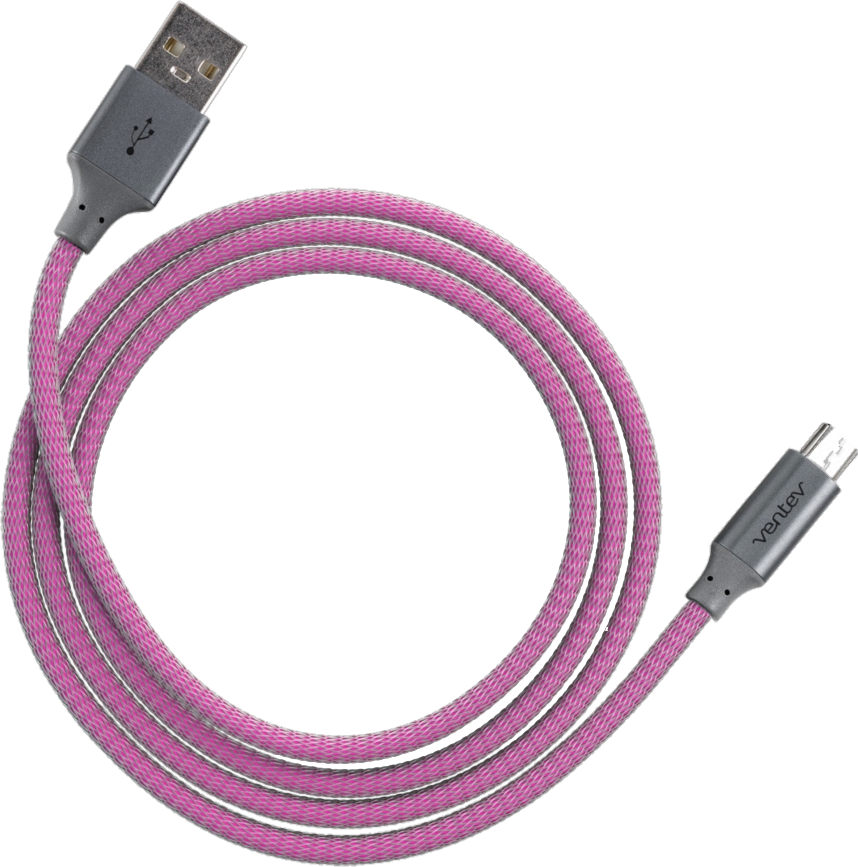 4' Chargesync Alloy microUSB Cable