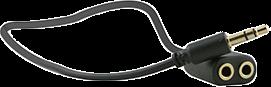 XQISIT Xqisit Universal 3.5mm Headphone Splitter