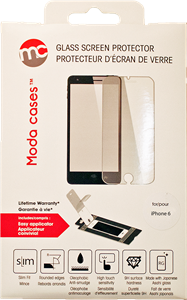 Moda iPhone 6/6s Glass Screen Protector