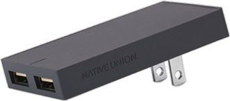 Native Union Dual USB Port Smart Charger