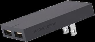 Native Union Dual USB Port Smart Charger