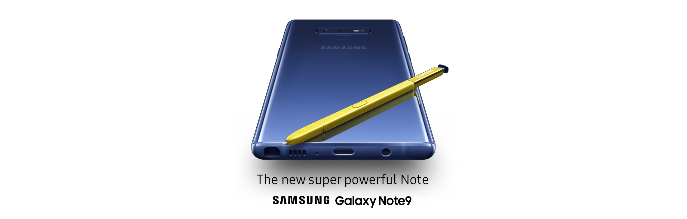 The new super powerful Note - Samsung Galaxy Note9