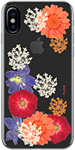 FLAVR iPhone X iPlate Real Flower Case