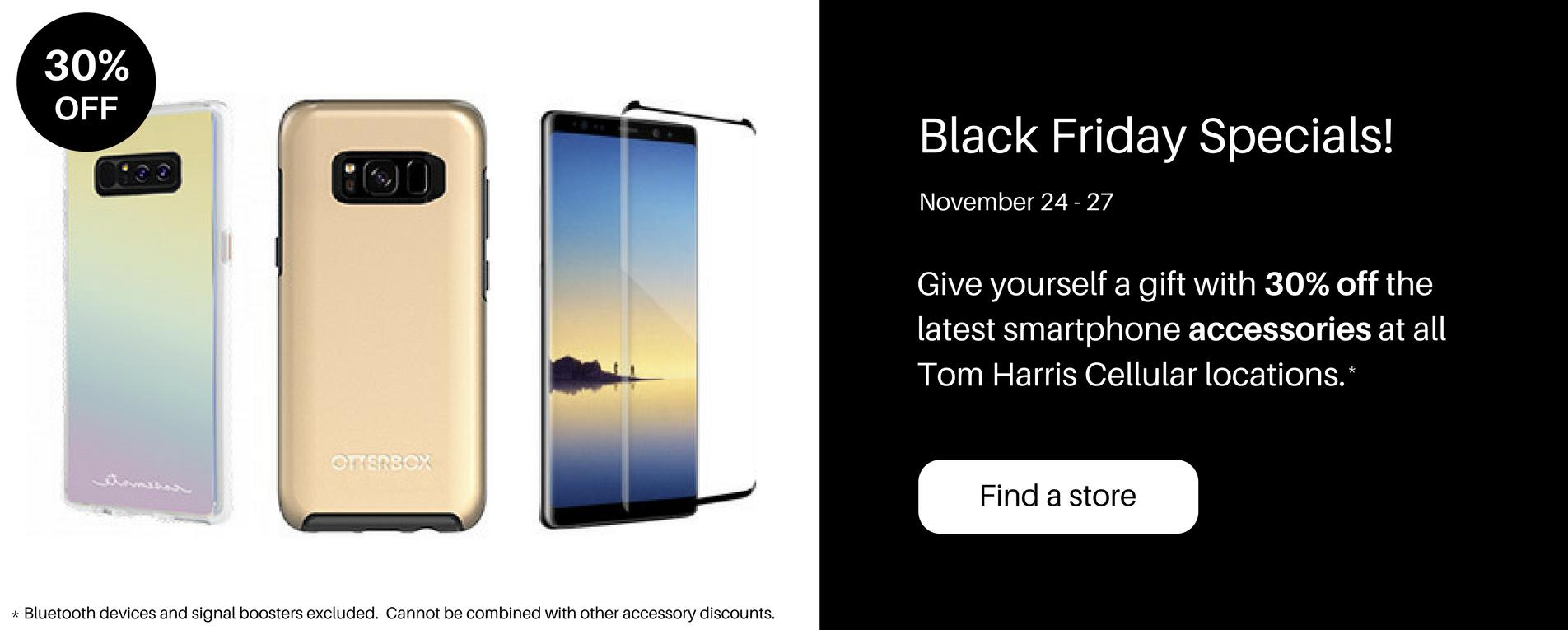 Black Friday at Tom Harris Cellular