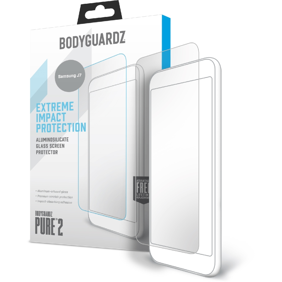 Samsung J7 2018 Pure2 AlumiTech Glass