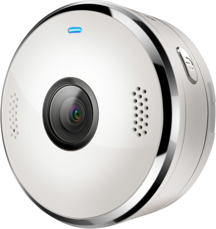 Verve Cam Wearable Wi-Fi Camera with Waterproof Case - White
