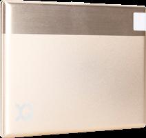 XQISIT Lightning 1350mAh Ultra Slim Portable Power Bank