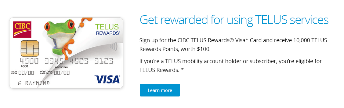 Get rewarded for using TELUS services