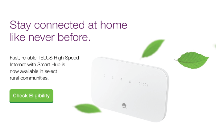 TELUS Smart Hub Rural