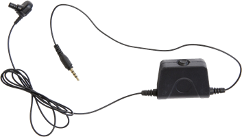 Milicom In-Ear Mic Android PTT Headset (1 Wire)