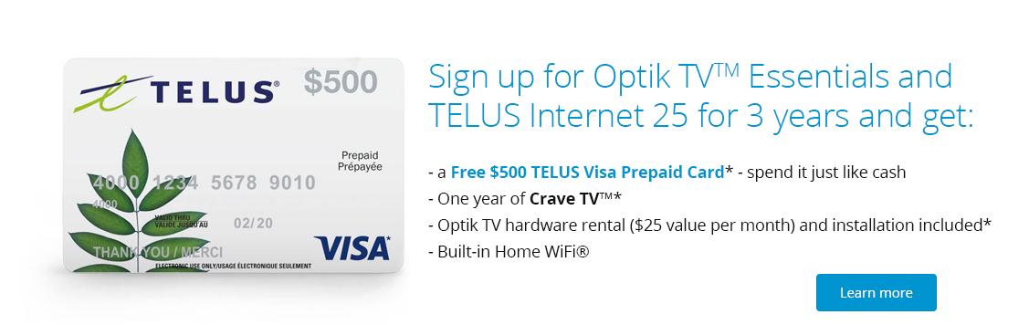TELUS Optik TV
