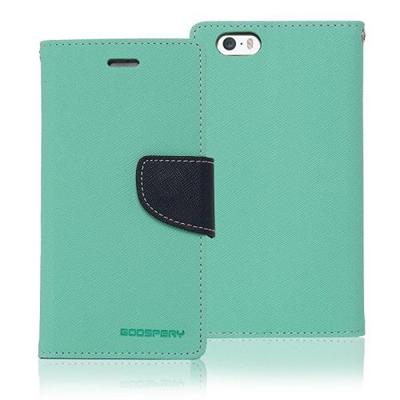 Goospery iPhone 7+ Fancy Wallet - Teal