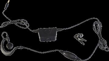 Milicom Smart 2-in-1 Earhook Earbud Headset