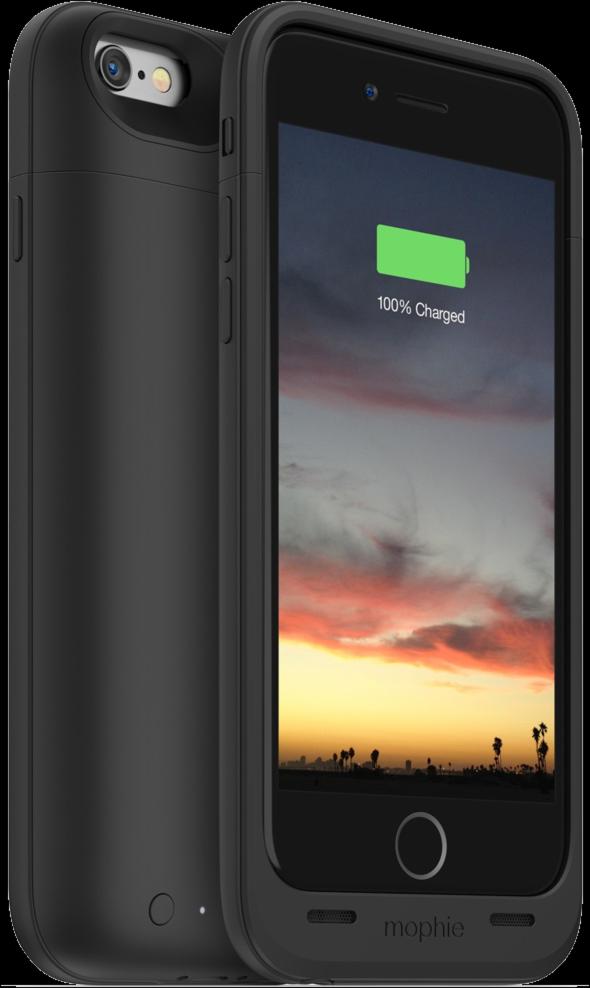 iPhone 6/6s 2750mAh Juice Pack Air Case - Black