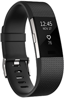 FITBIT Charge 2 Fitness Tracker Large Black