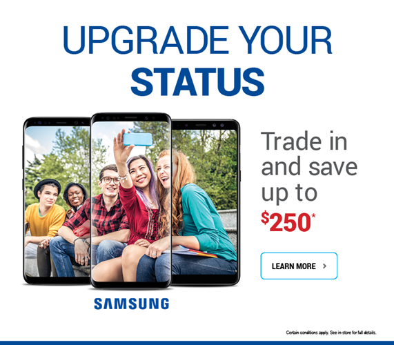 Trade in and save up to $250