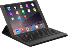 Zagg iPad 9.7 2017 / iPad Pro 9.7 / iPad Air 2 / iPad Air Messenger Folio Bluetooth Keyboard Case