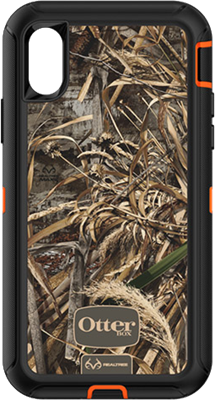 OtterBox iPhone X Realtree Camo Defender Case