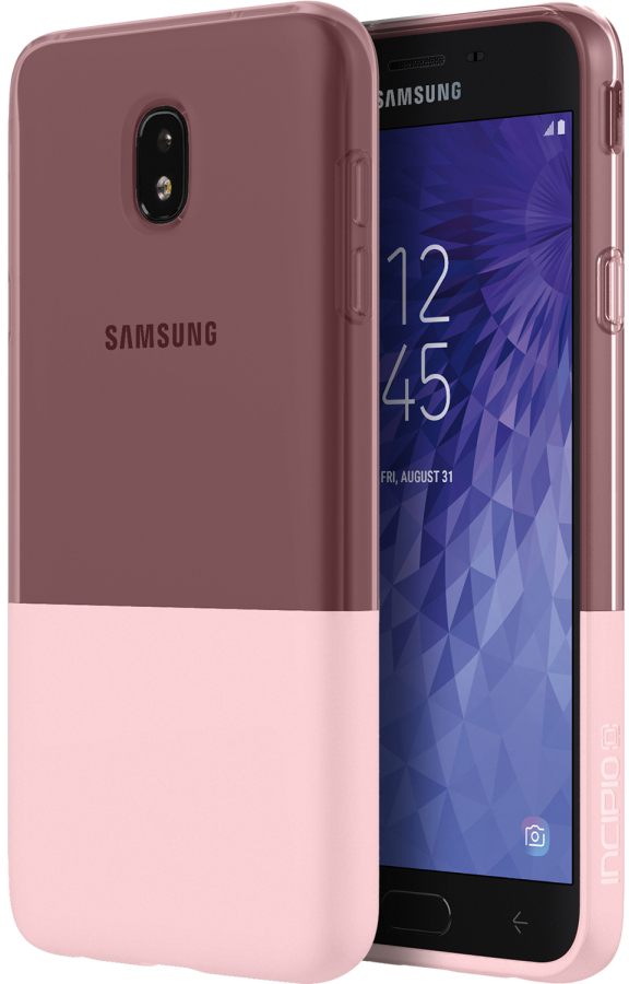 Samsung Galaxy J7 2018  /  J7 Refine  /  J7v 2nd Gen NGP Case - Rose