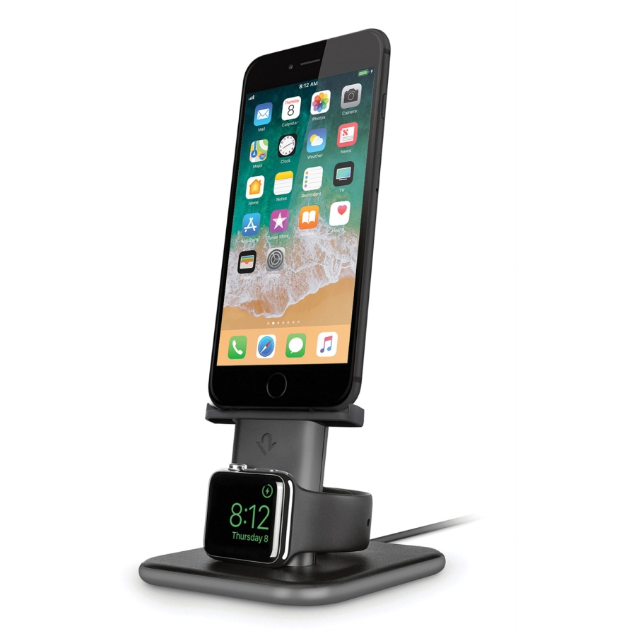 HiRise Duet iPhone & Apple Watch - Space Gray