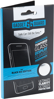 Galaxy J3 Emerge Black Ice Edition Glass Screen Protector - Clear
