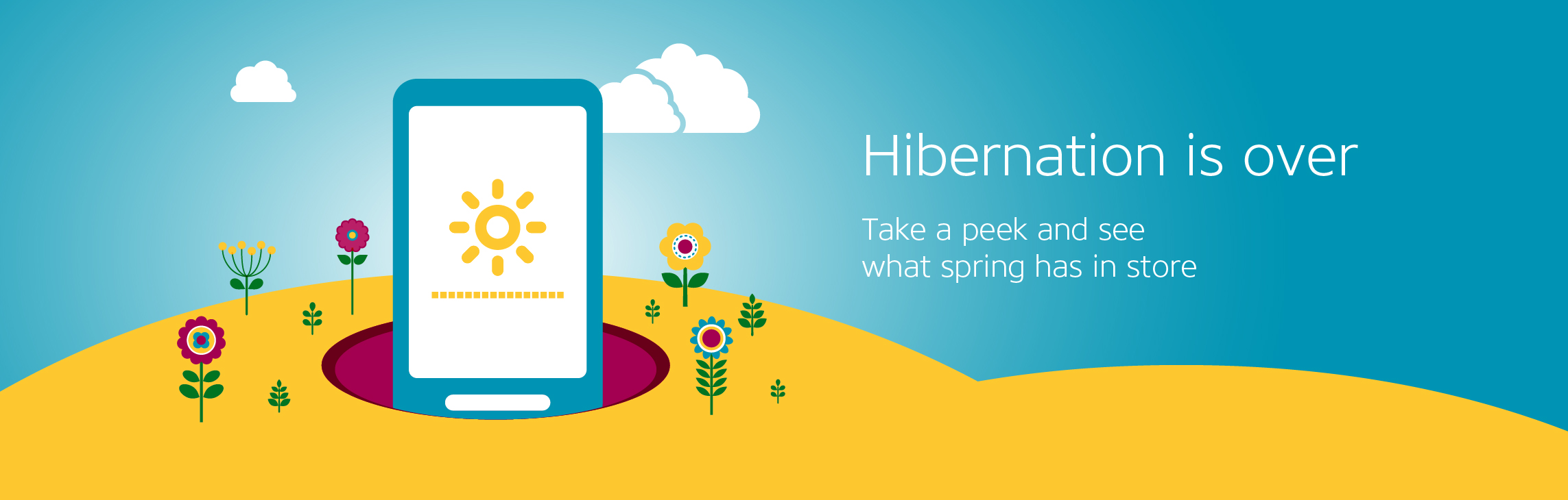 Hibernation is over. Take a peek and see what spring has in store.