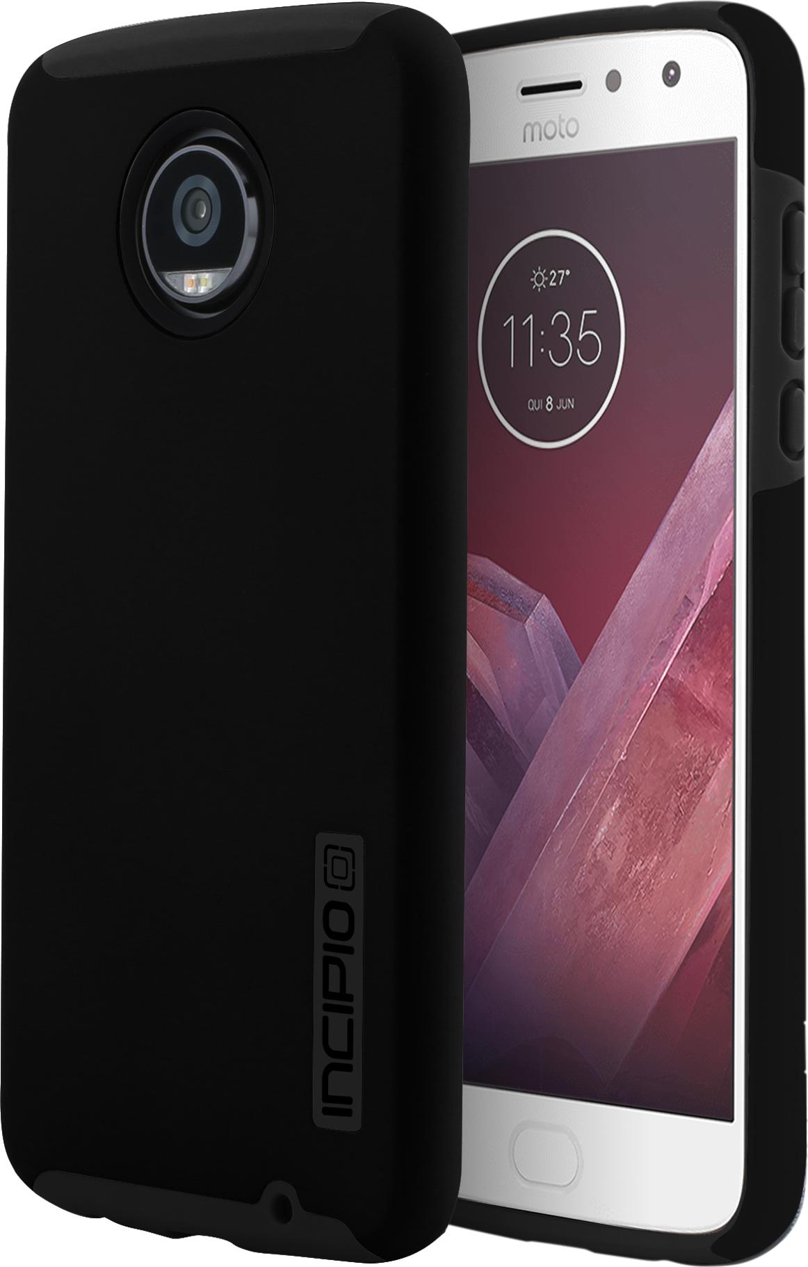 Moto Z2 Play DualPro Case - Black