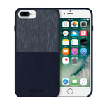iPhone 6/7+ Burton Leather Case - Navy